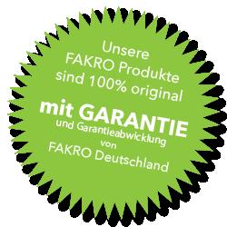 garantie fakro deutschland
