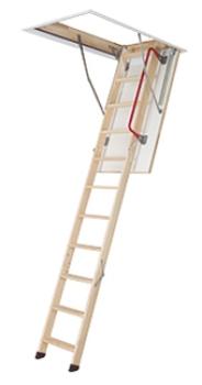 Fakro LWZ Plus Bodentreppe mit Holzleiter