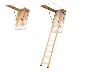 Fakro LDK Bodentreppe mit Schiebeleiterteil
