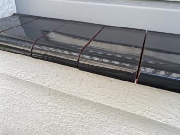 Fensterbank Klinker - graphit (glasiert)