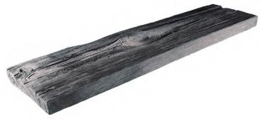 BDO - Holznachbildung Beton - Brett 98 cm - Anthrazit