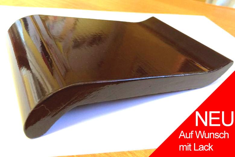 Fensterbank außen klinker  Klinker - dunkelbraun (glasiert)