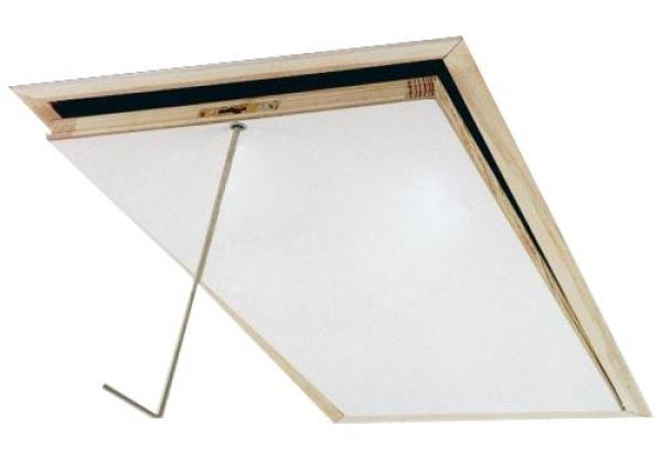 fakro lwl lux dachbodentreppe mit holzleiter. Black Bedroom Furniture Sets. Home Design Ideas